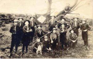 Groepsfoto uit 1918