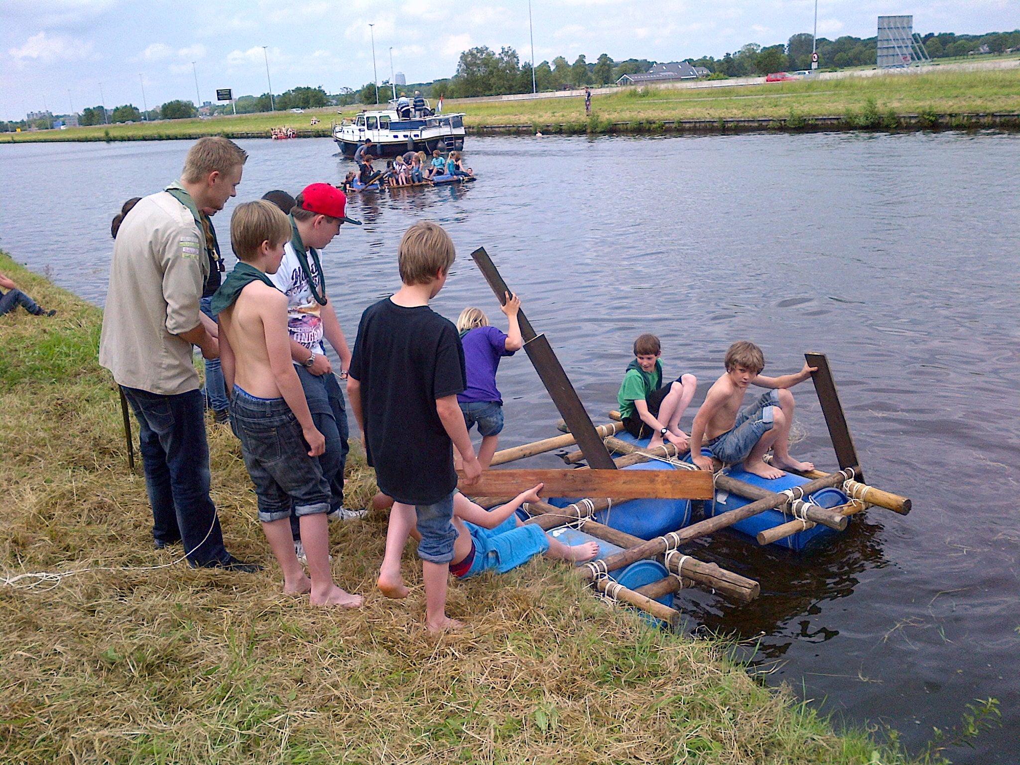 Scouts - Scoutinggroep De Voerman - Groningen Beijum