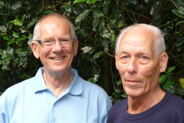 Oeds Helmhout (Links) en Jan Boersma (Rechts)