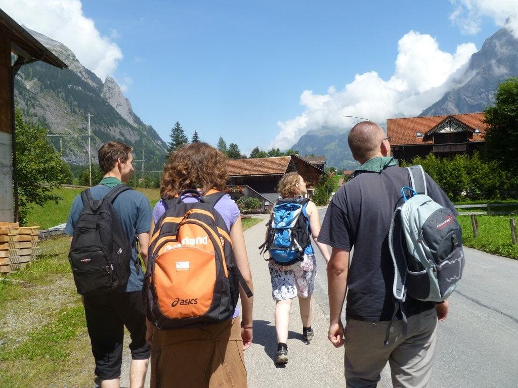 Stamleden op zomerkamp in Zwitserland - Scoutinggroep De Voerman