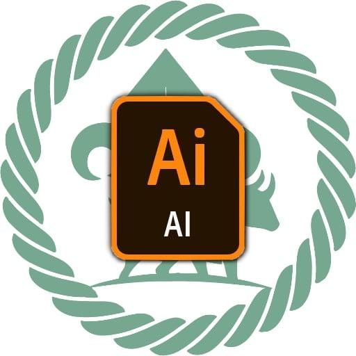 De Voerman logo 2020 - Adobe Illustrator