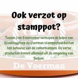 Stampotactie van De Voerman 2019