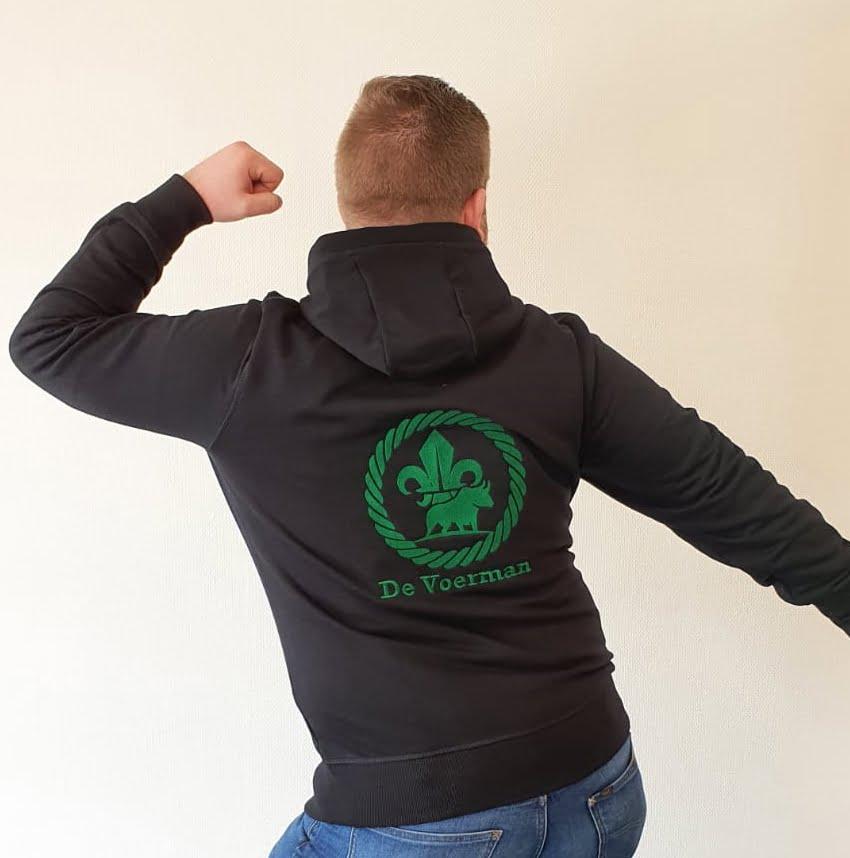 Vest achterkant